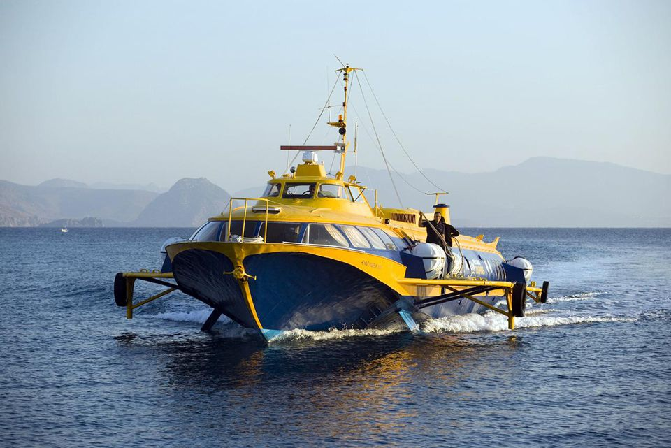 Hydrofoil ferry to Bodrum, Kos-Town, Kos, Greece