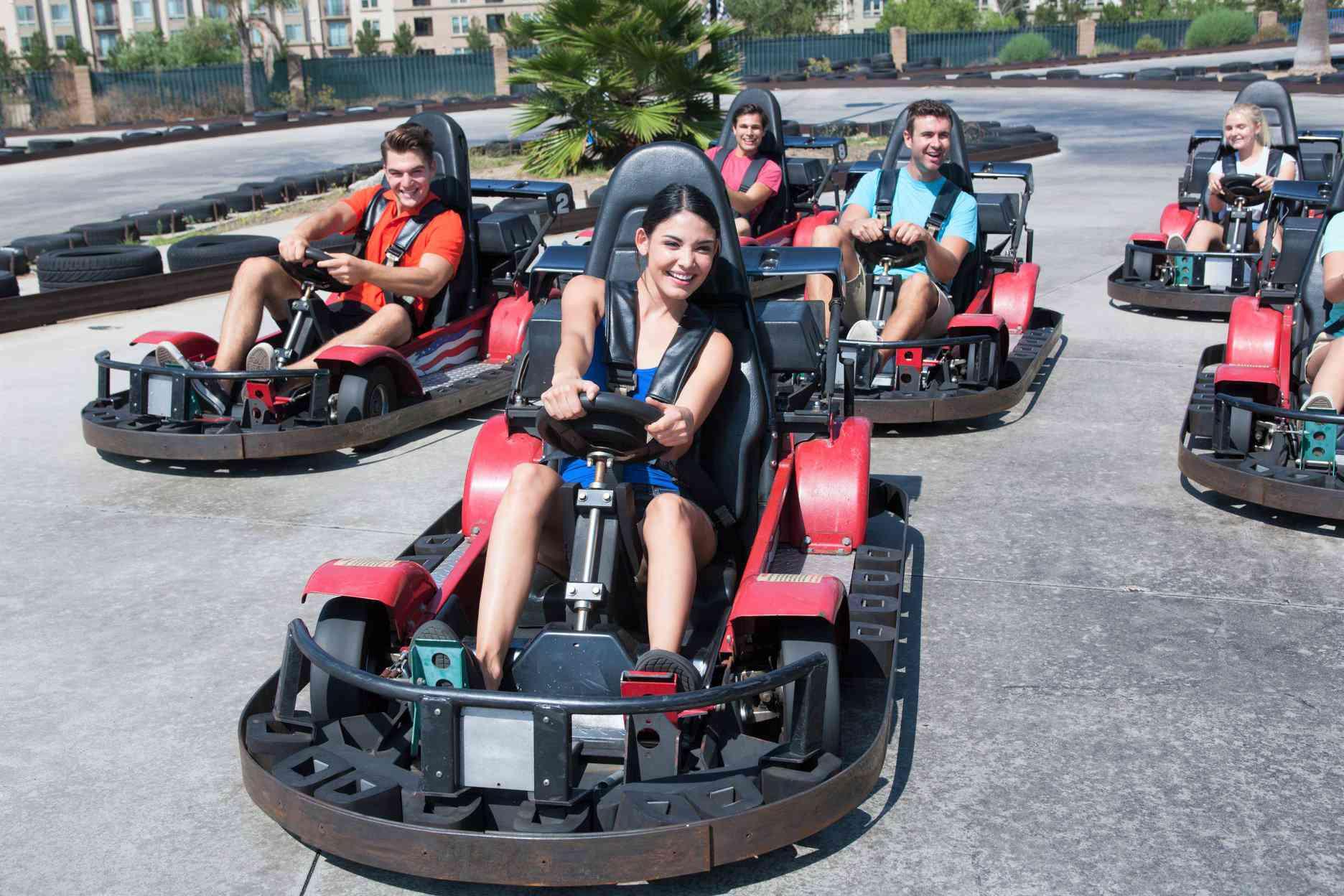 Speed Zone California family entertainment center