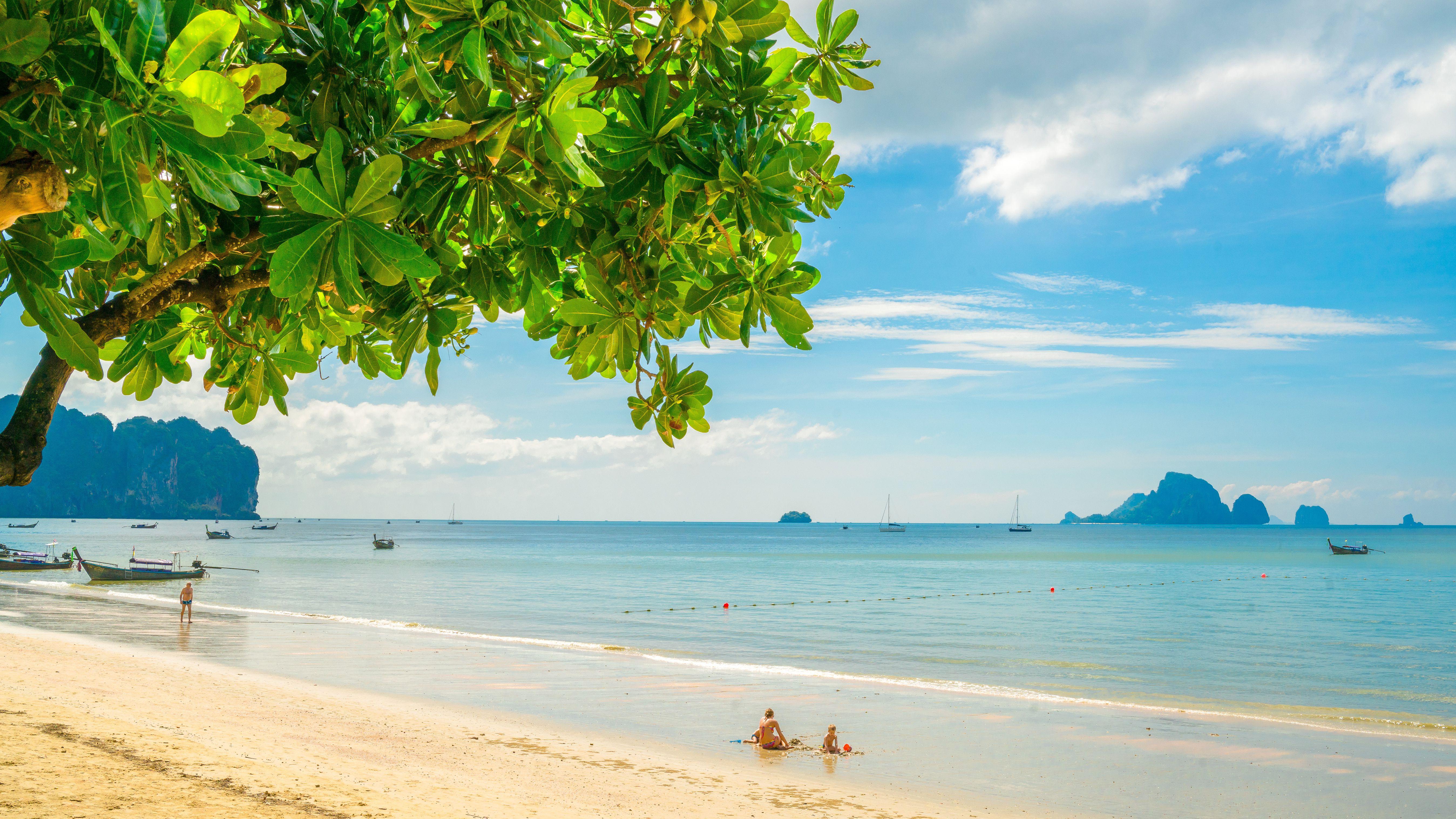 Ao Nang Beach in Krabi, Thailand