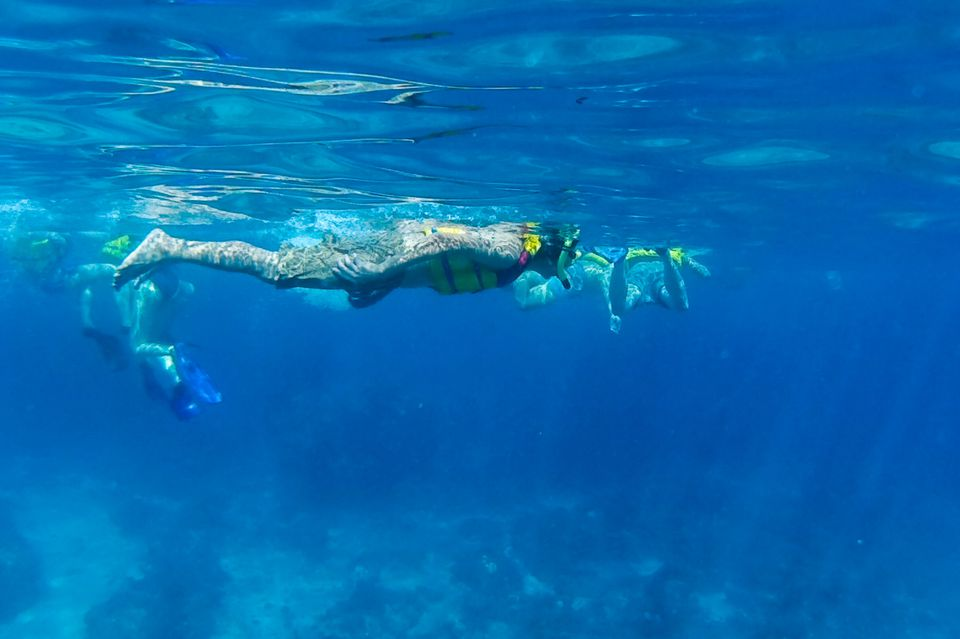 Snorkeling off Gili Air, Indonesia