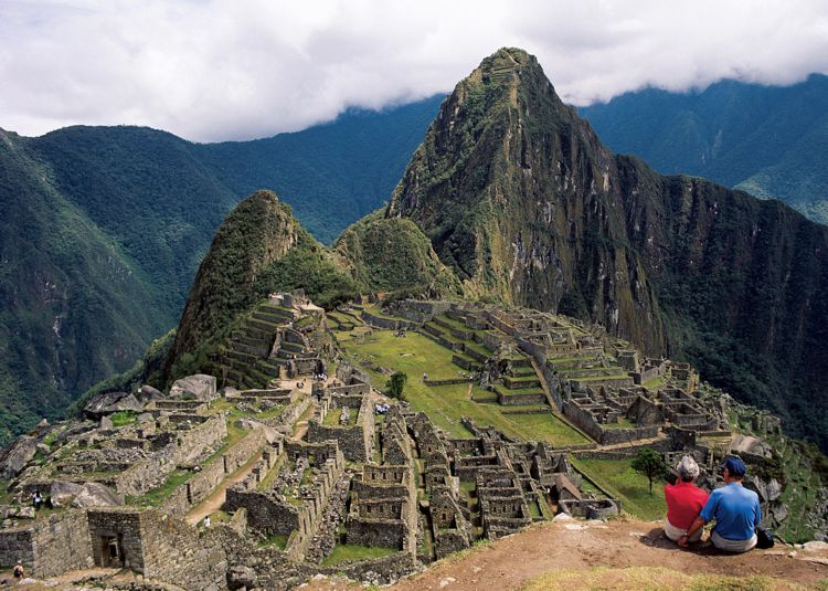 Machu Picchu in Peru is an amazing place