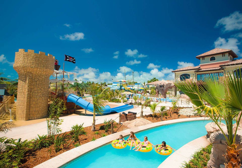 Pirates Island waterpark at Beaches Turks & Caicos