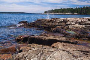 West side of Mount Desert Island, Acadia National Park.