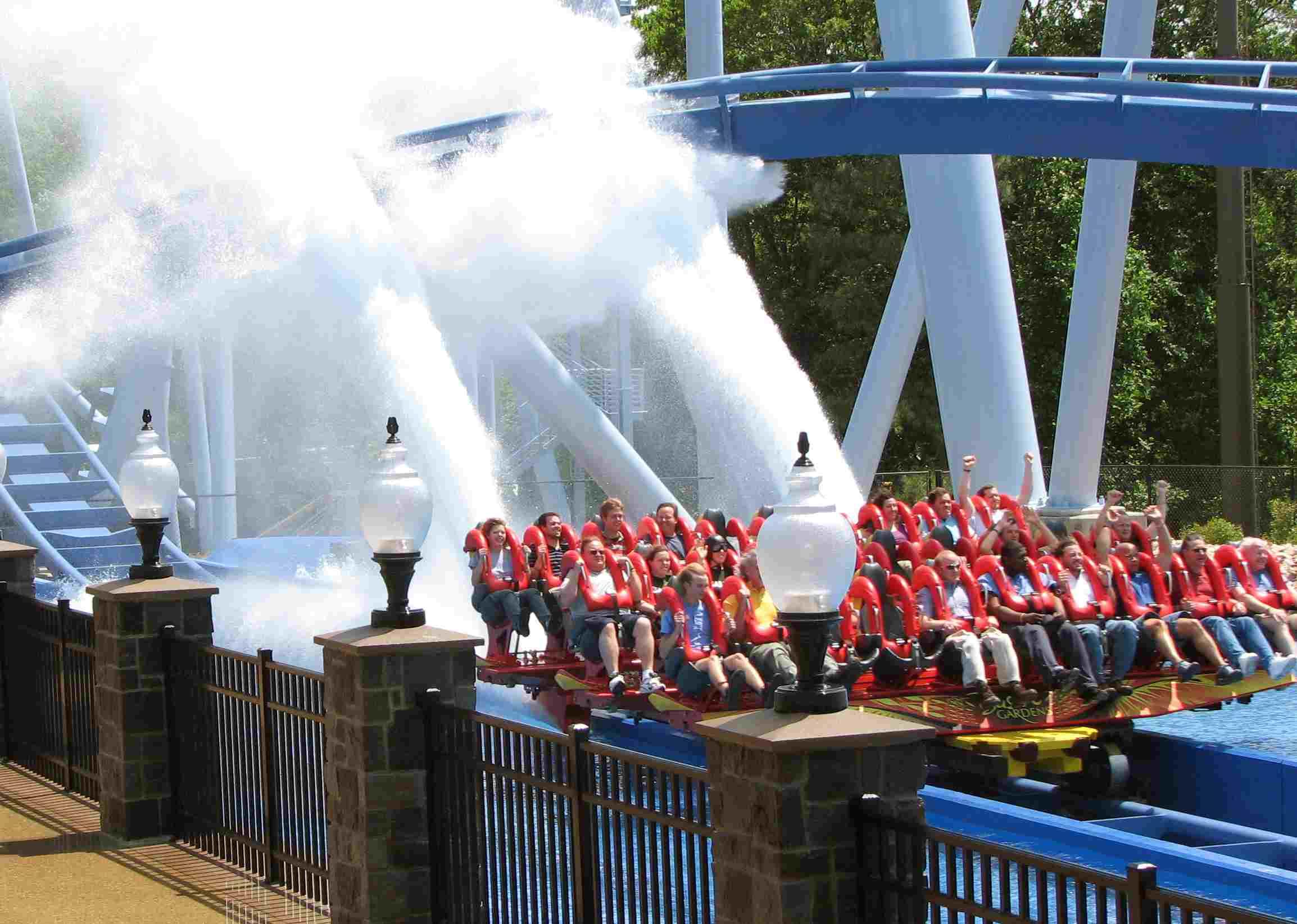 The Griffon at Busch Gardens