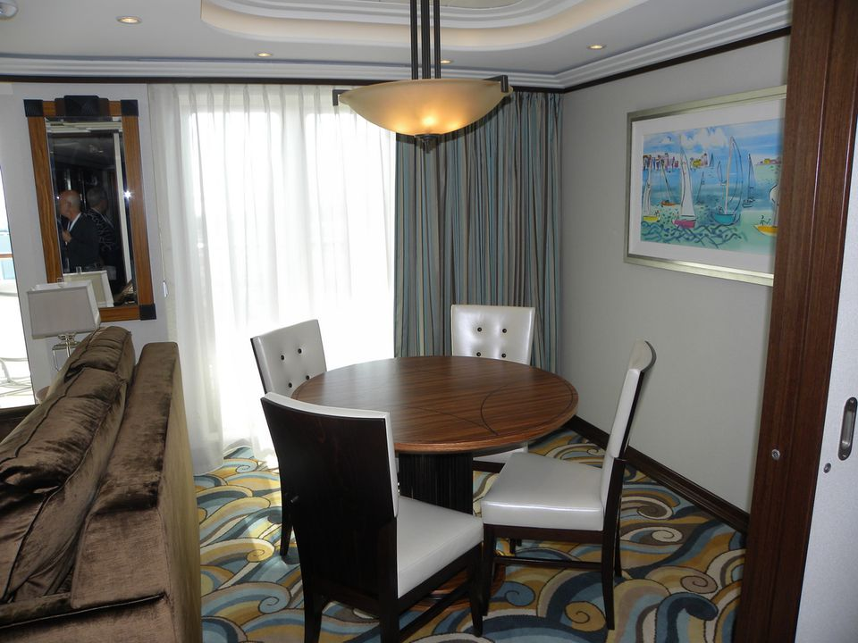 Dining Room In A Disney Dream One Bedroom Suite