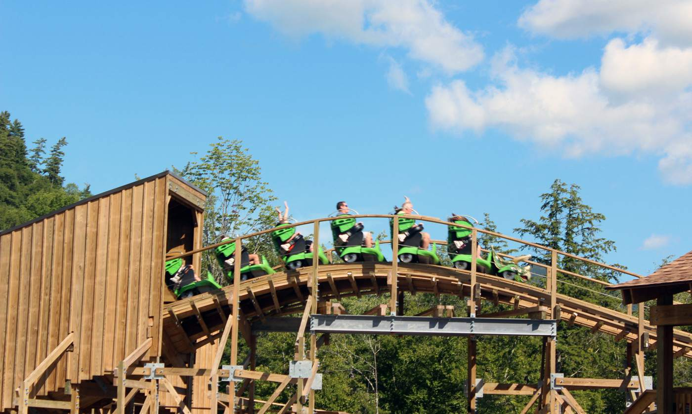 Story Land roller coaster