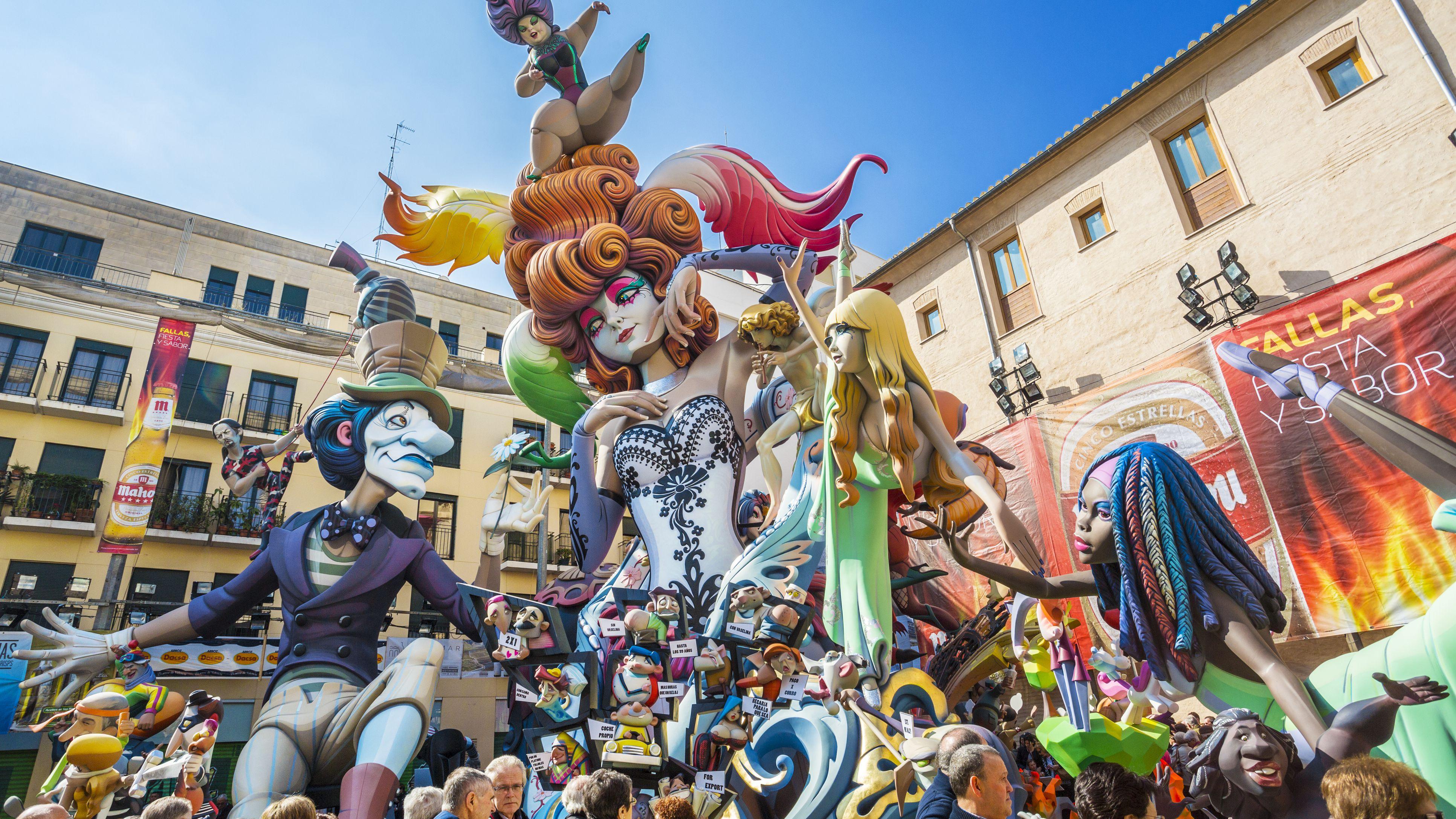 Fallas 2020 Calendario.Las Fallas Valencia Dates For 2019 And Beyond
