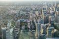 Skyline view of Toronto