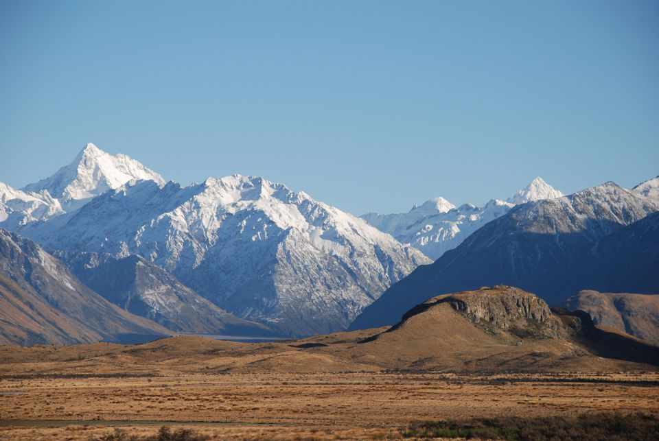 Upper Rangitata Basin, Canterbury, New Zealand