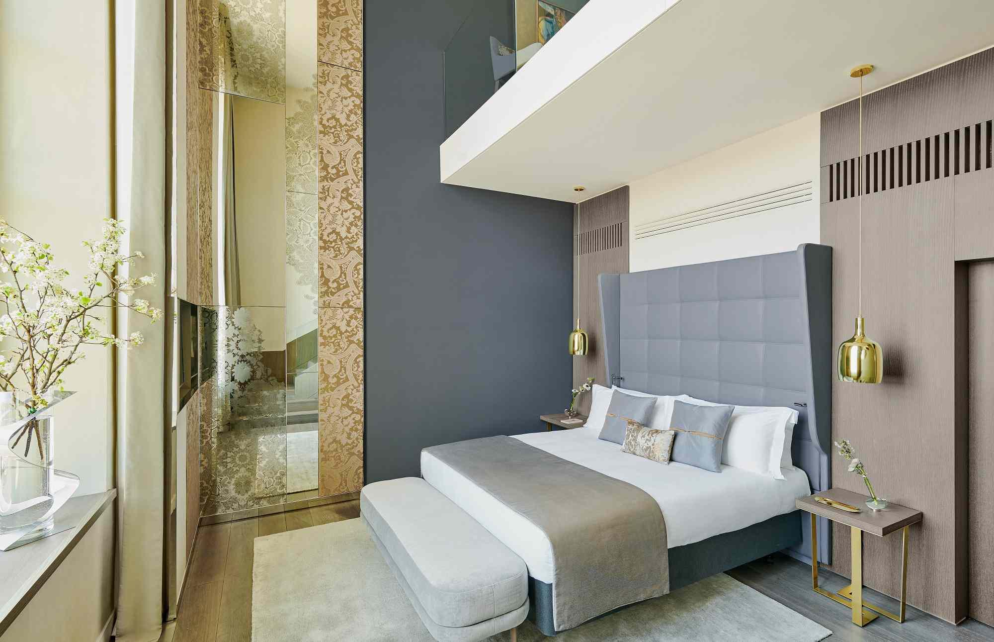 Duplex suite at the Intercontinental Lyon Hotel-Dieu Hotel