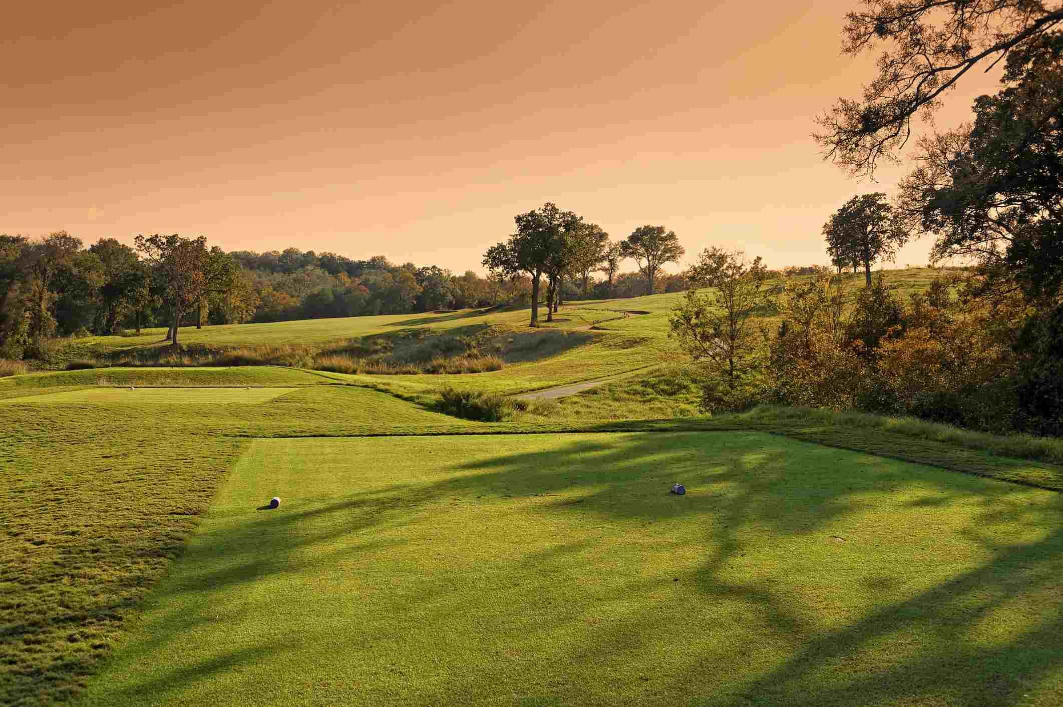 Golf course in Austin, Texas