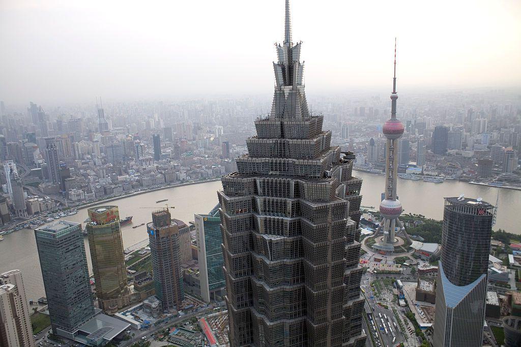 China - Urbanism - World Financial Center in Shanghai