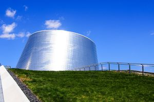 Planetarium building, Montreal, Canada