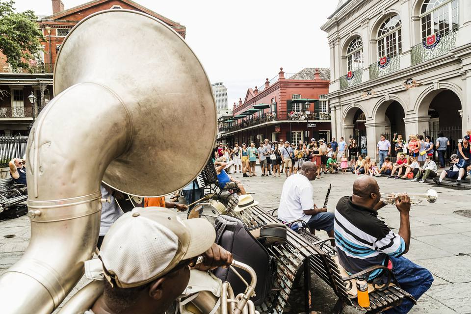 Concert in the French Quarter