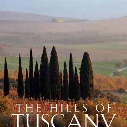 foto de libro de colinas de la Toscana