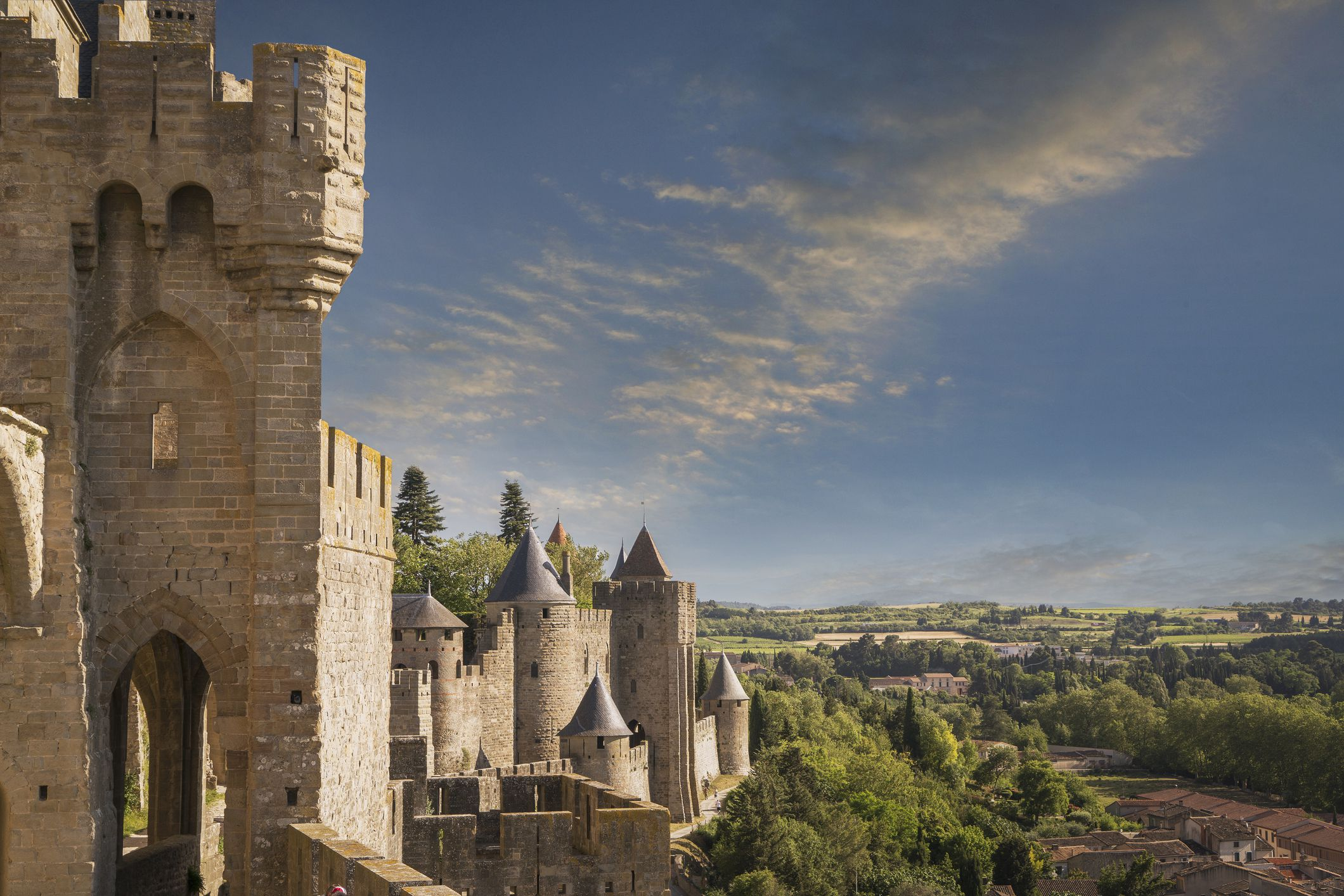 Carcassonne, fortified medieval city – 28 Apr 2014 | What ... |Uzziahs Fortified Cities