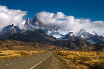 Road to Mount Fitzroy, Patagonia