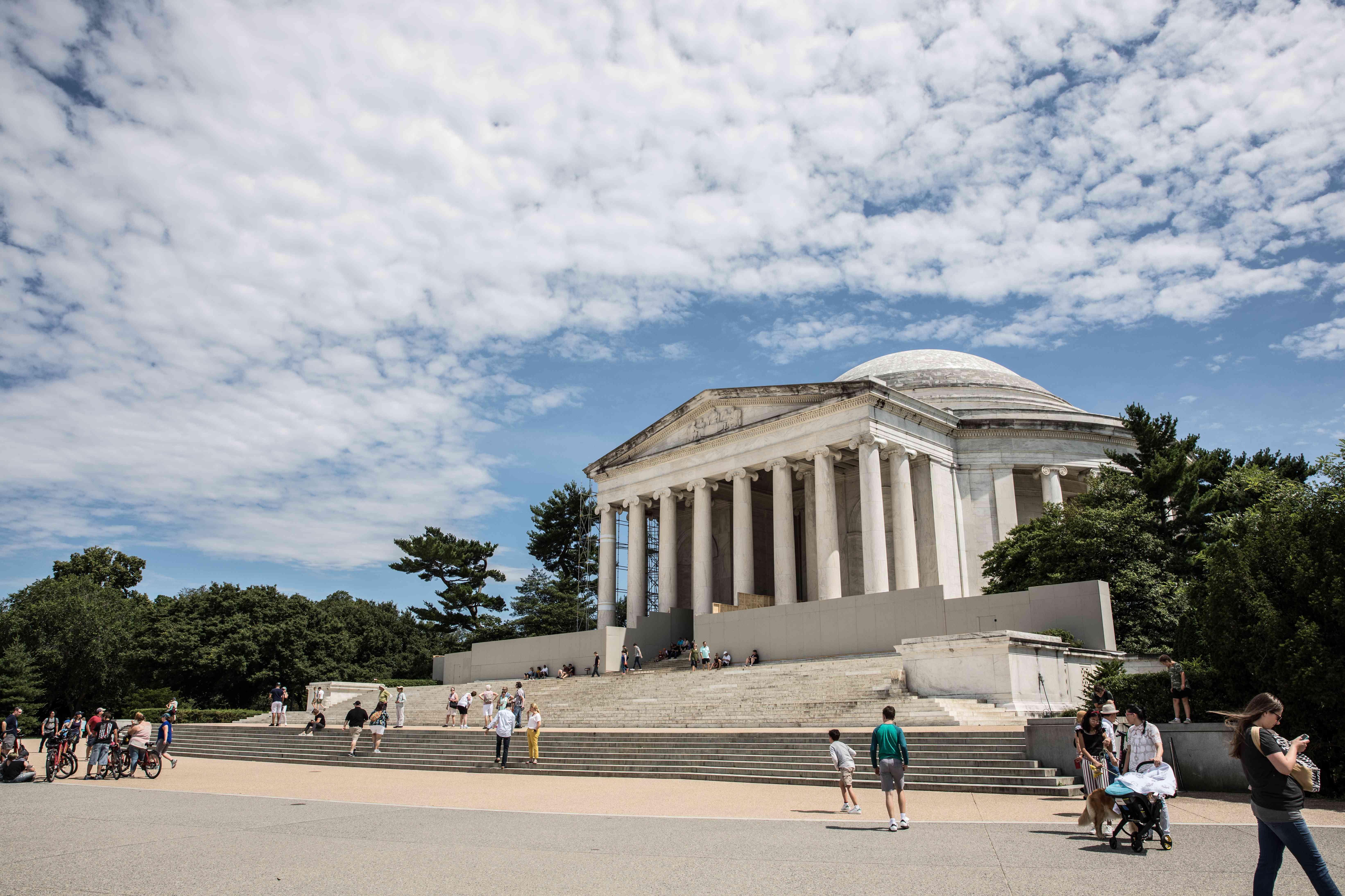 Exterior del Monumento a Jefferson