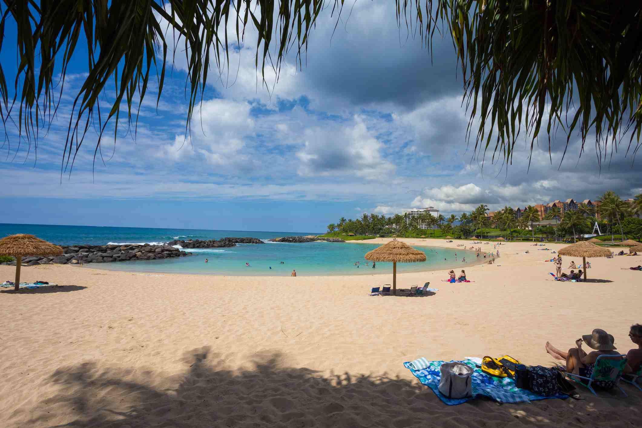 Ko'olina Manmade Lagoon in Oahu Hawaii