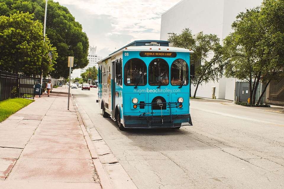 Miami Beach Trolly
