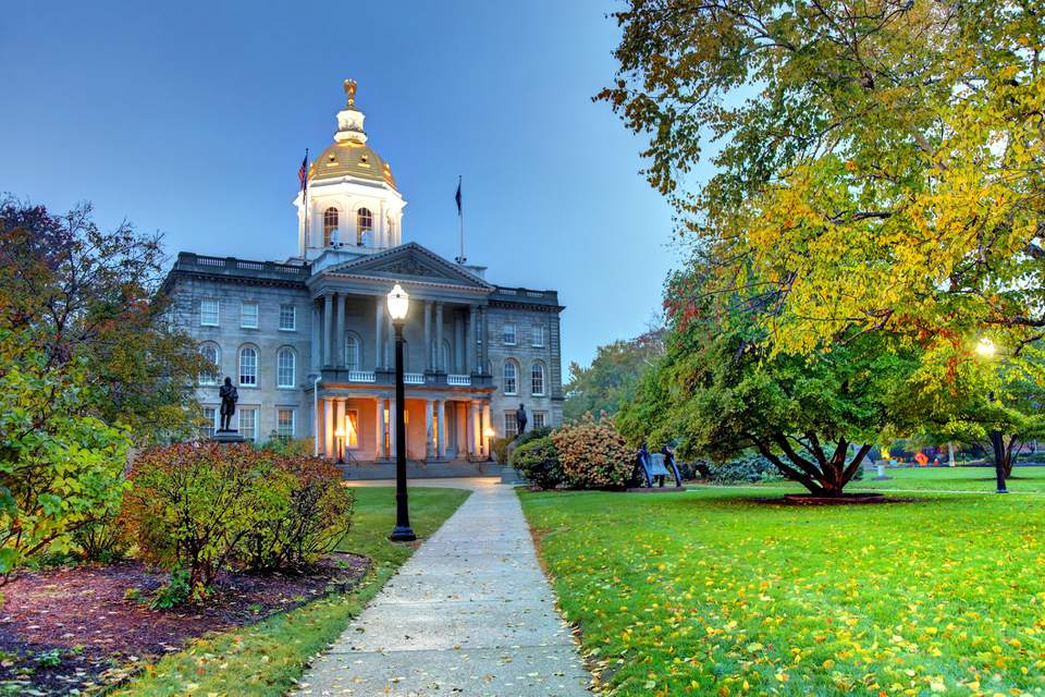 The New Hampshire State House, Concord New Hampshire
