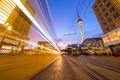 Berlin's Alexanderplatz and Tram