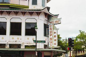 Wo Fat Building in Honolulu's Chinatown