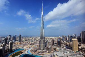 Burj Khalifa in Dubai, UAE.