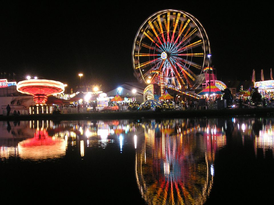 Midway at the 2007 Georgia National Fair