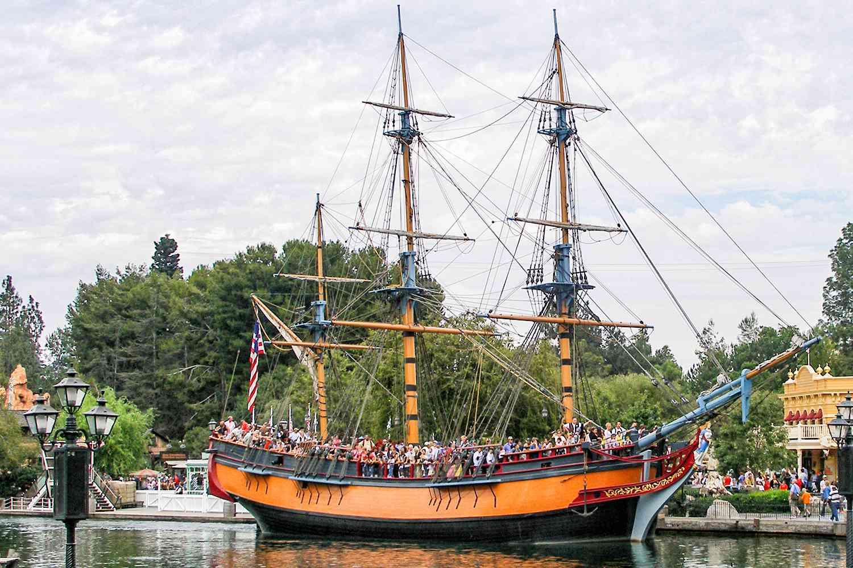 Columbia Sailing Ship Taking a Ride
