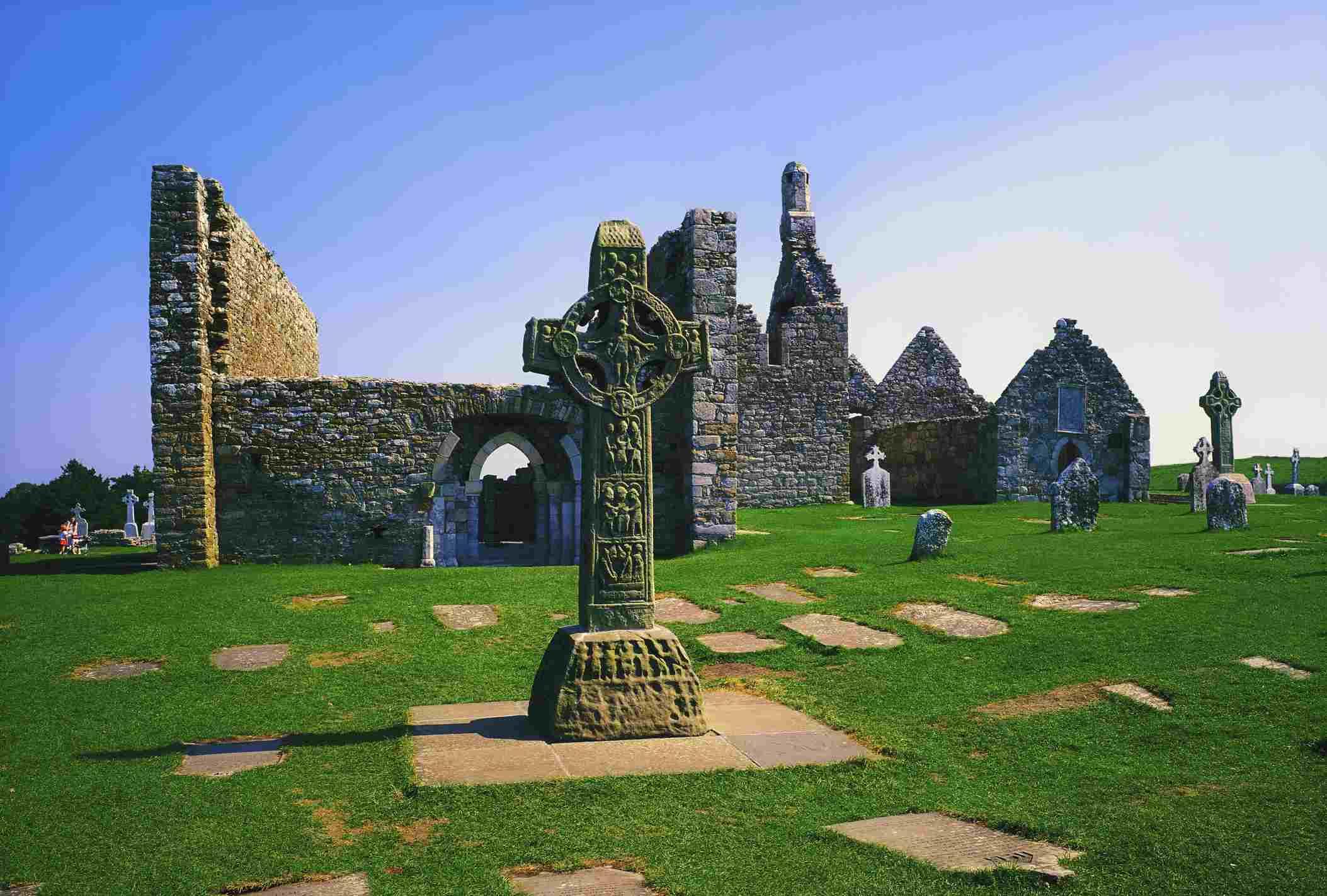 High Crosses at Clonmacnoise