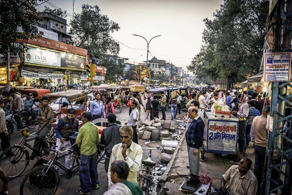 Chandni Chowk, Delhi.