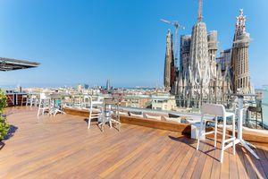 Sagrada Familia at Ayre Hotel Rosellón
