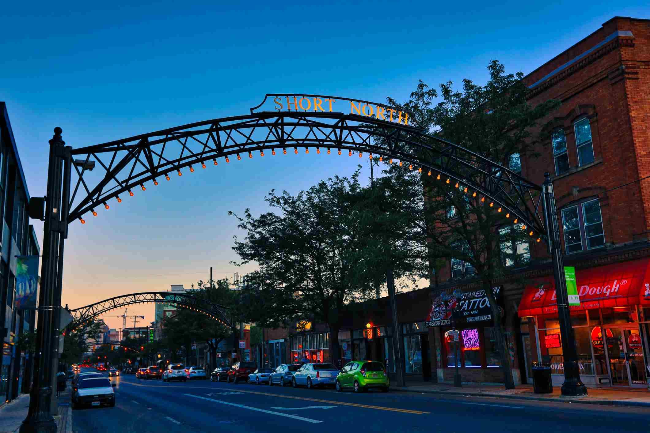 The Vibrant Short North Arts District in Columbus, Ohio