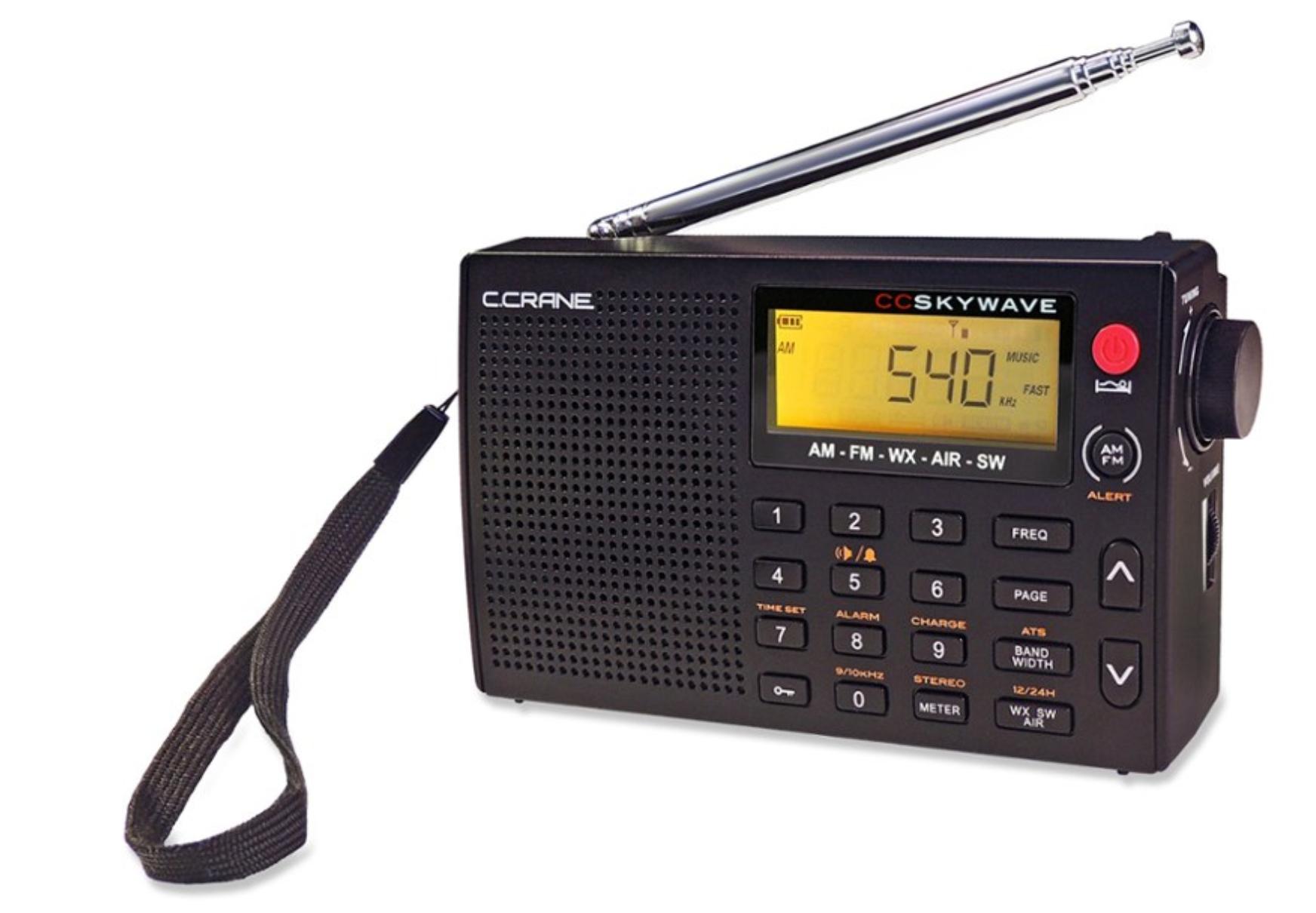 C Crane Skywave Pocket Radio