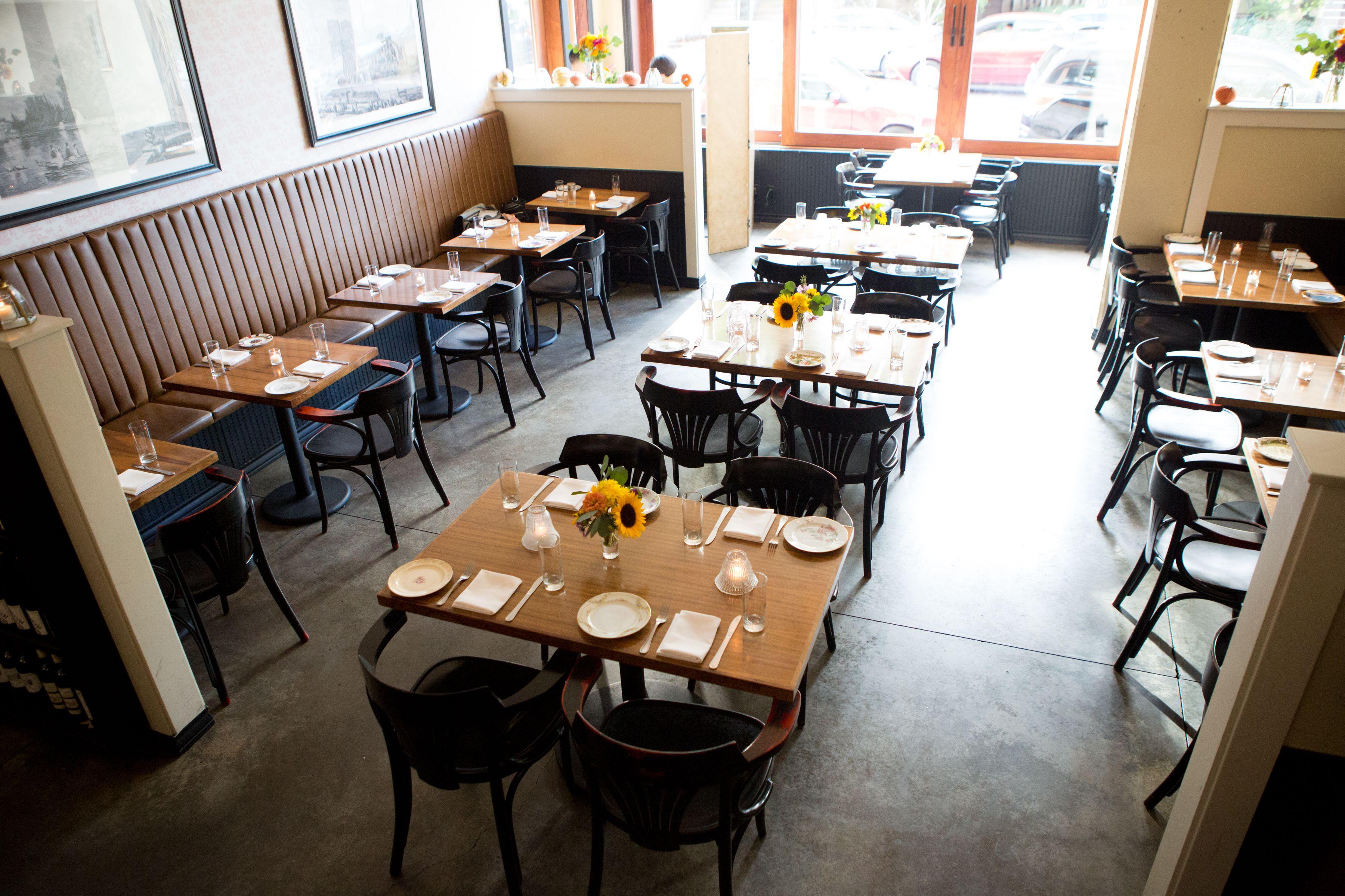 Comedor del restaurante y bar St. Jack