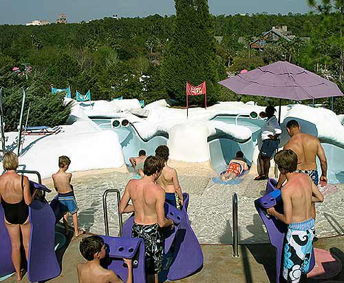 Snow Stormers is another mat slide at Blizzard Beach.