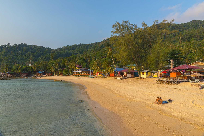 Bahía de Salang, isla de Tioman, Malasia