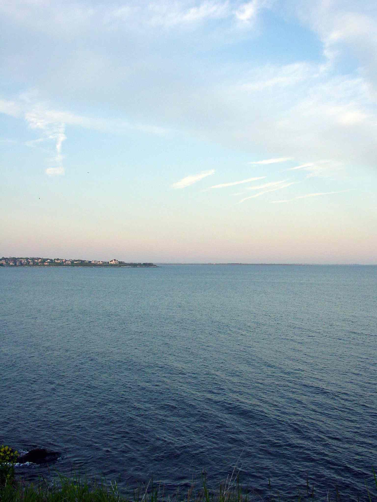 Newport Cliff Walk Sunset View
