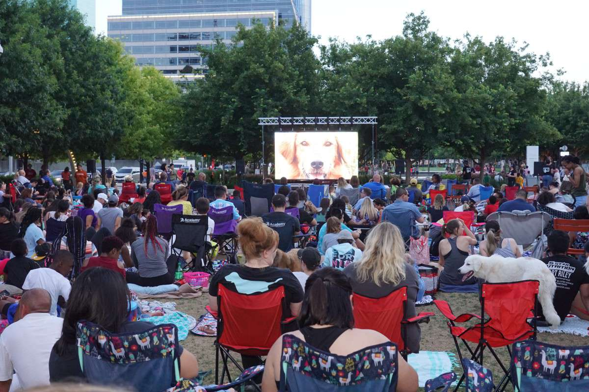 Movies at Klyde Warren Park