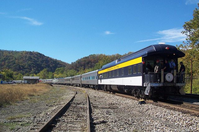 The New River Train West Virginia