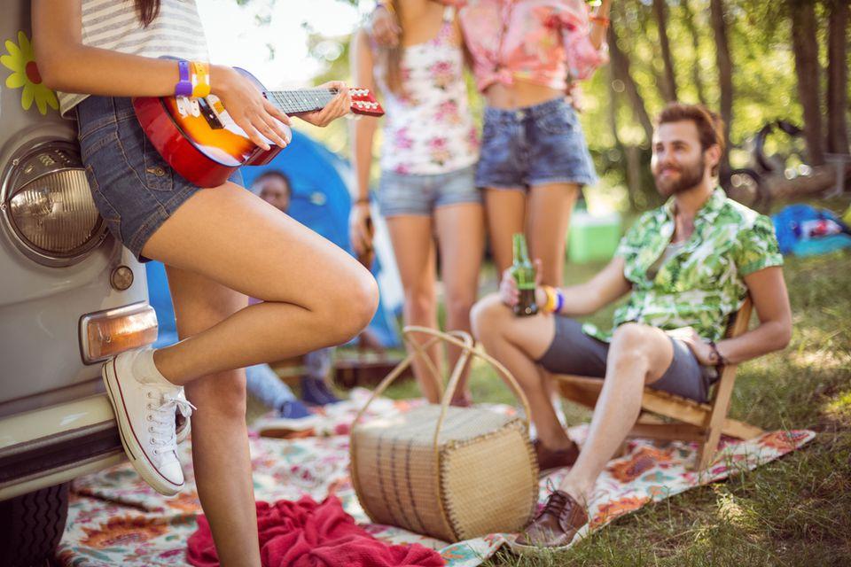 RVing to music festivals