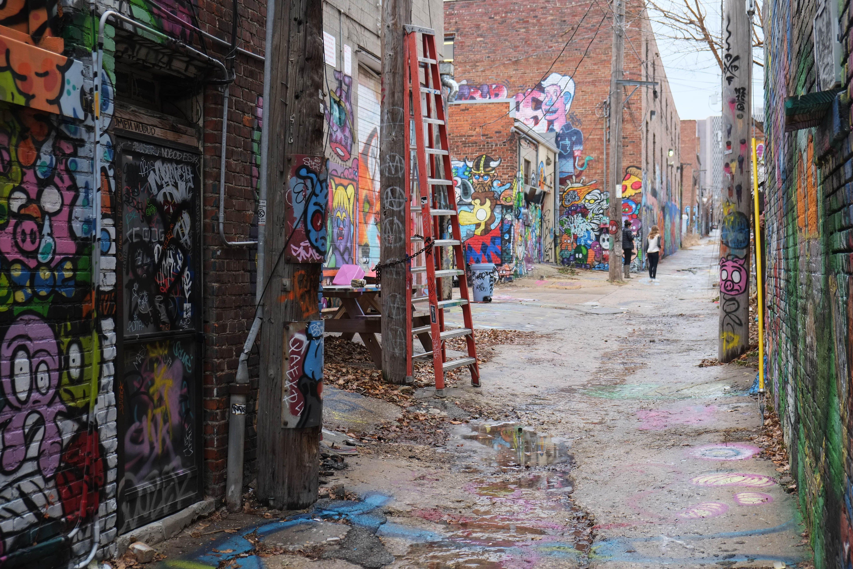 Graffiti in an Alley, Crossroads Arts Disctrict, Kansas City Missouri