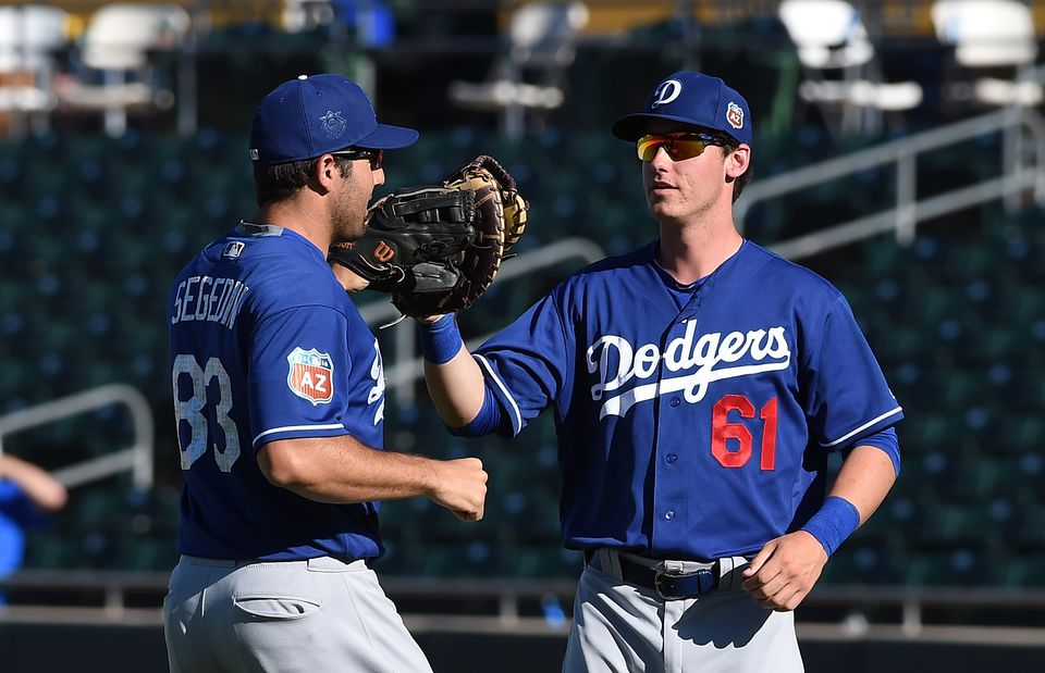 Segedin and Bellinger OKC Dodgers