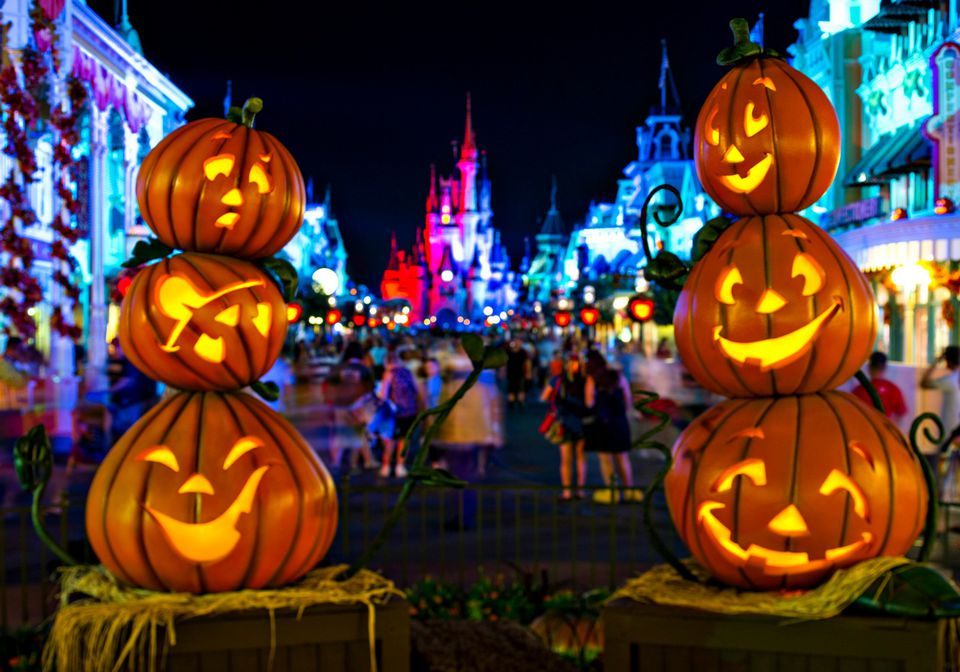Halloween on Main Street USA Disney World