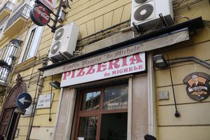 L'antica Pizzeria da Michele in Naples Italy