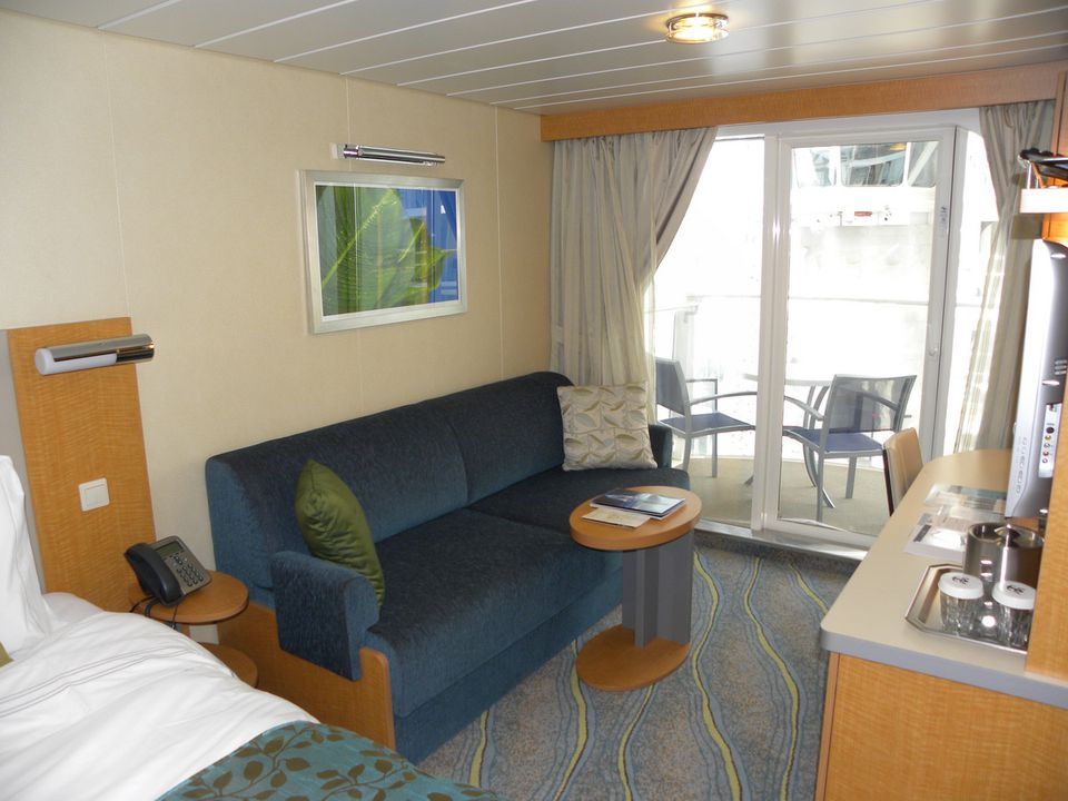 Royal Caribbean Oasis Of The Seas Cruise Ship Cabins