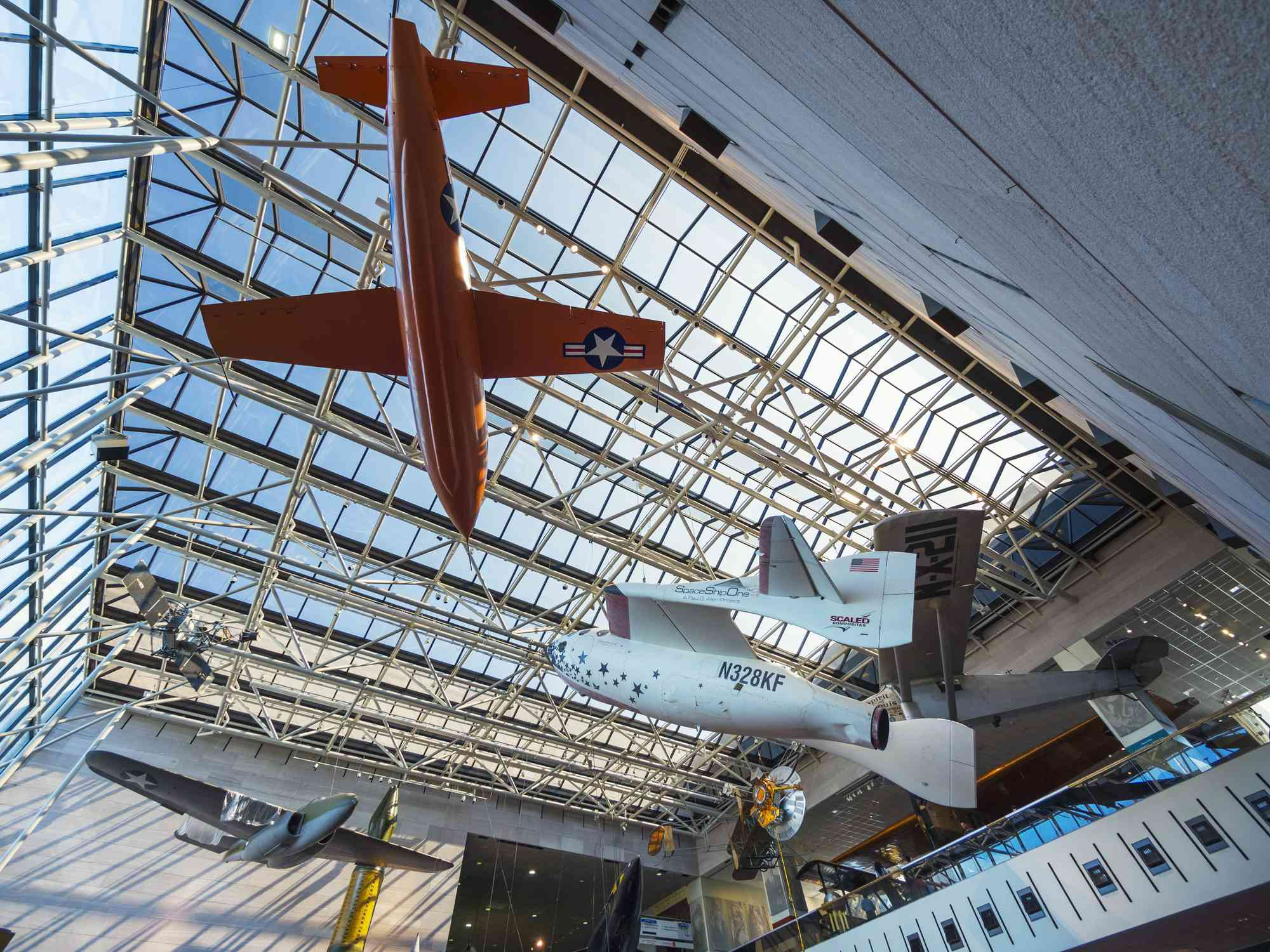 The National Air and Space Museum, Washington, DC.