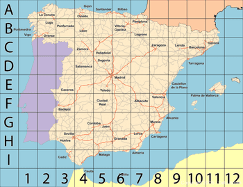 Blank Map Of Spain Regions.Regions Of Spain Map And Guide