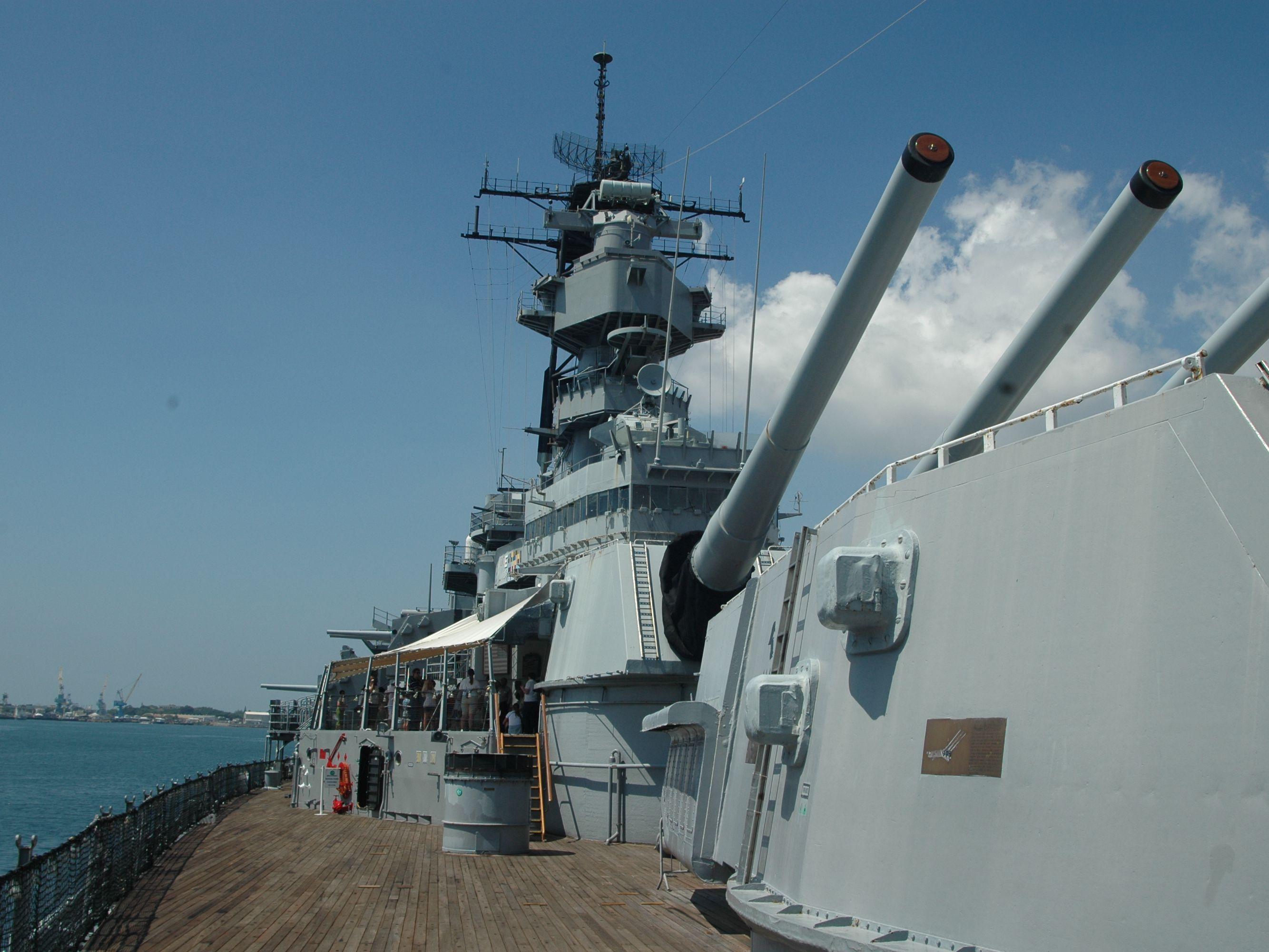 Visiting the Battleship Missouri Memorial, Pearl Harbor